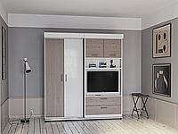 Подьемная шкаф-кровать в гостиную, фото 1