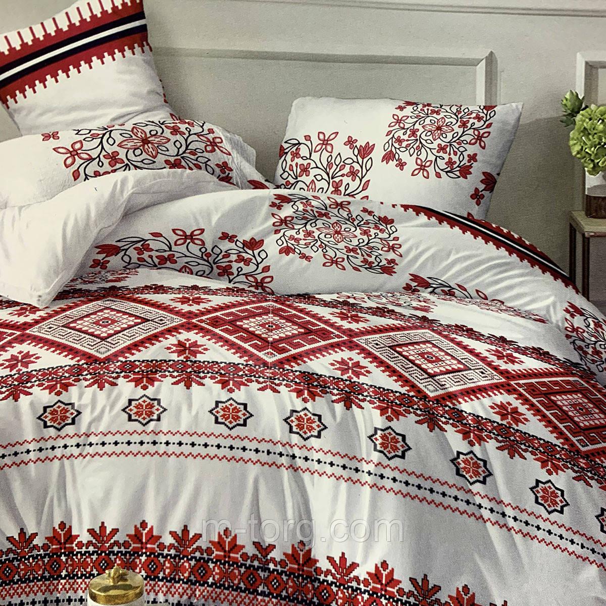 """""""вышиванки"""" комплект постельного белья двуспальный 180/210, нав-ки 70/70, ткань сатин, 100% состоит из хлопка"""