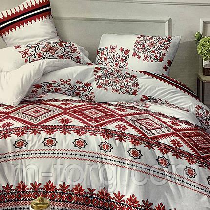 """""""вышиванки"""" комплект постельного белья двуспальный 180/210, нав-ки 70/70, ткань сатин, 100% состоит из хлопка, фото 2"""
