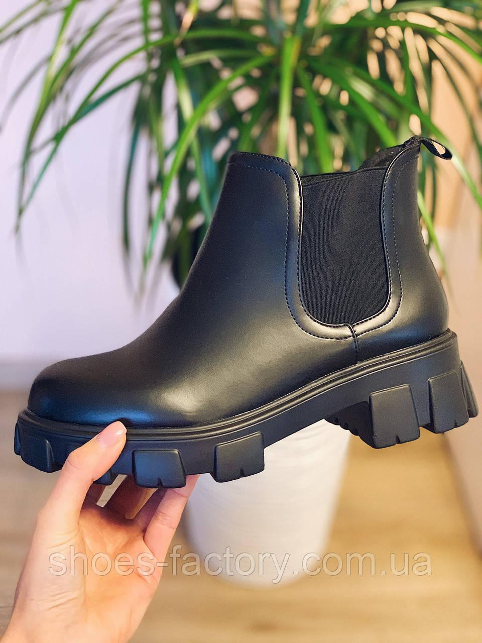 Ботинки женские в стиле Челси CHELSEA 2020