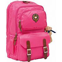 Рюкзак подростковый YES  Х163 ''Oxford'', розовый, 47x29x16см (552555)