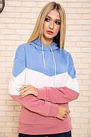 Худи женский 102R109 цвет Сине-пудровый