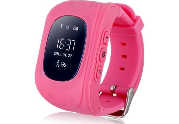 Smart часы детские с GPS Q50-1 Pink