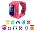 Smart часы детские с GPS Q50-1 Pink, фото 7