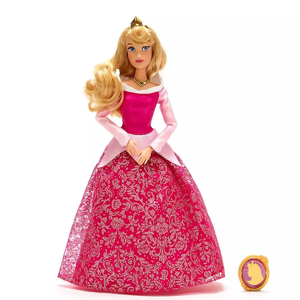 Кукла Аврора с кулоном