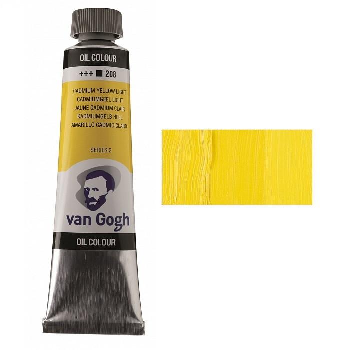 Фарба олійна Royal Talens Van Gogh (208) 40мл кадмій жовтий світлий (8712079219147)