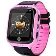Smart часы детские с GPS Q528 + камера, Pink, фото 2