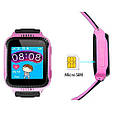 Smart часы детские с GPS Q528 + камера, Pink, фото 3