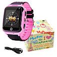 Smart часы детские с GPS Q528 + камера, Pink, фото 4