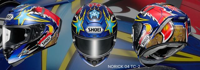 Shoei X-Spirit Norick 04 TC-2