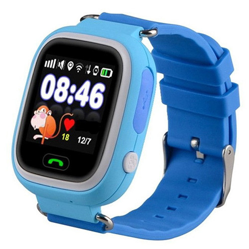 Smart часы детские с GPS Q90, Blue
