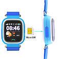 Smart часы детские с GPS Q90, Blue, фото 2