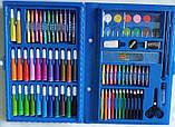 Набор для детского творчества и рисования Painting Set 86 предметов в чемоданчике Разные цвета, фото 3