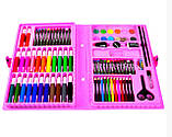 Набор для детского творчества и рисования Painting Set 86 предметов в чемоданчике Разные цвета, фото 4
