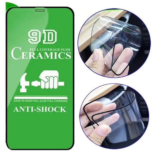 Защитное стекло 9D Ceramics для iPhone X, Xs, 11 Pro