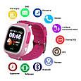 Smart часы детские с GPS Q90, Pink, фото 4