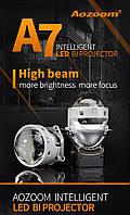 """Светодиодные Линзы AOZOOM A7 Pathfinder 3.0"""" / BI-LED AOZOOM A7 Pathfinder"""
