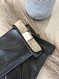 Женские кожаные перчатки сенсорные, фото 8