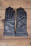 Женские кожаные перчатки сенсорные, фото 7