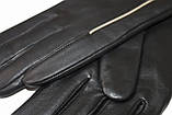 Женские кожаные перчатки сенсорные, фото 4
