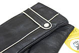 Женские кожаные перчатки сенсорные, фото 9