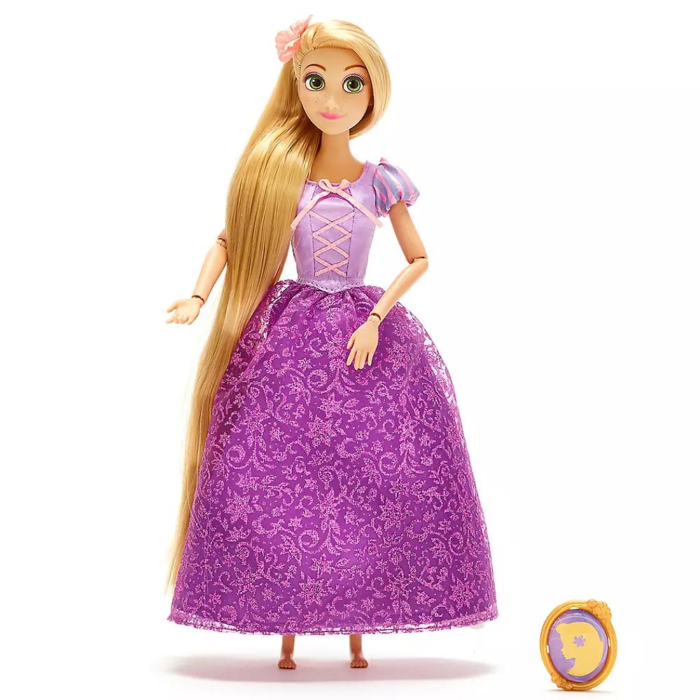 Кукла Рапунцель с кулоном