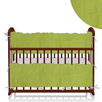Защита в кроватку МБ/40/014 - цвет салатовый ТМ Алекс