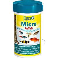 Корм для рыб Tetra Micro Pellets 100 мл, фото 1