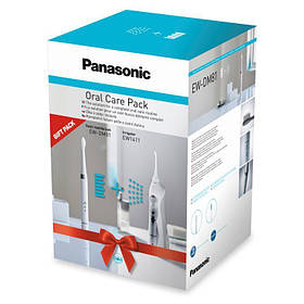 Набір для догляду за порожниною рота Panasonic: звукова зубна щітка DM81 + іригатор EW1411