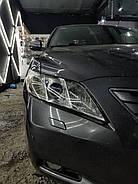 Полировка и оклейка фар бронепленкой Toyota Camry 40