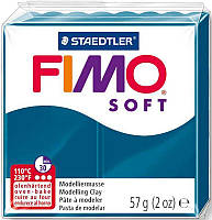 Пластика Soft, Синий калипсо, 57г, Fimo