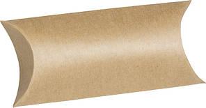 Набір картонних коробочок для подарунка, Коричневий, 300 г / м2, 7х10,5 см, 6 шт, Heyda