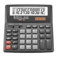 Калькулятор Brilliant 12 разрядов 2-питан. BS-322