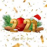 Вітаємо з Новим 2021 роком та Різдвом!