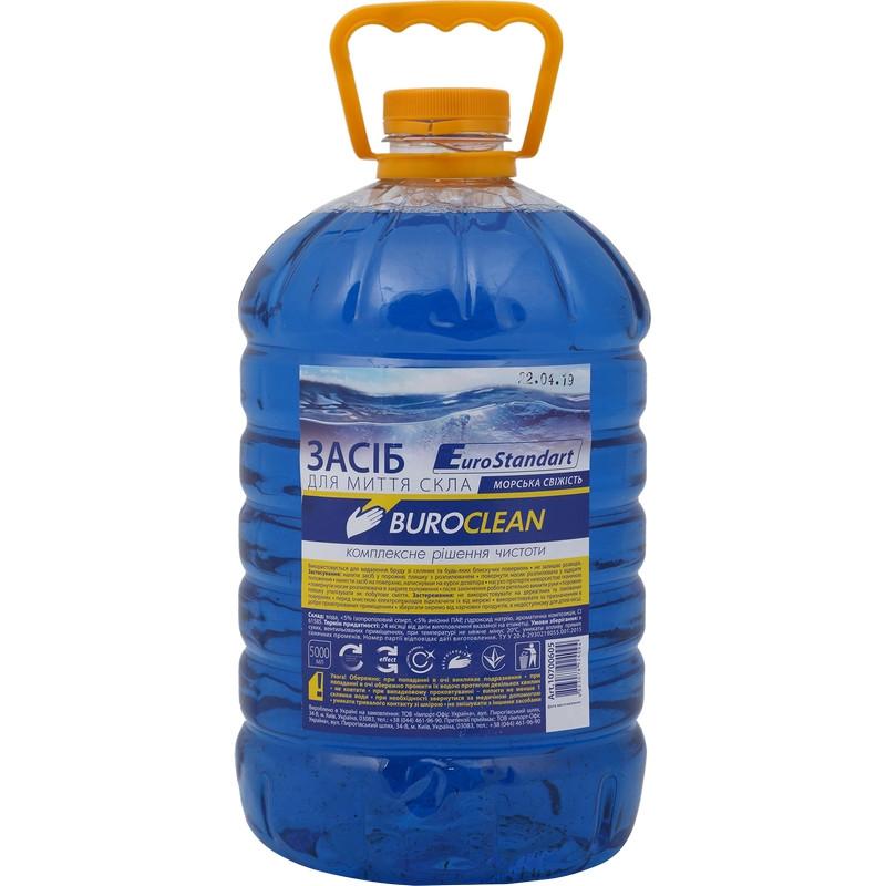 Средство для мытья стекол Buroclean МОРСКАЯ СВЕЖЕСТЬ 5л (10700605)