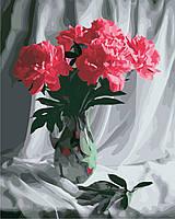 Художественный творческий набор, картина по номерам Бархатные пионы, 40x50 см, «Art Story» (AS0849), фото 1