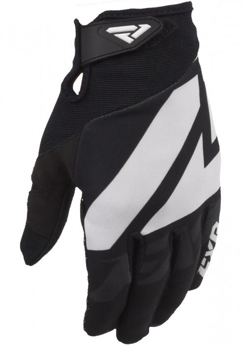 Мотоперчатки FXR Clutch Strap MX 20-Black/White-M