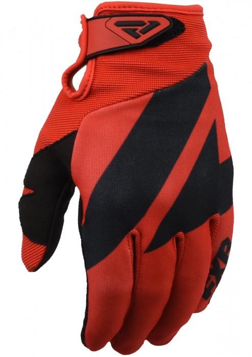Мотоперчатки FXR Clutch Strap MX 20-Red/Black-M