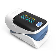 Пульсоксиметр Yonker YK-80A Blue напалечный для контролю кисню в крові