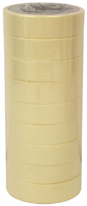 Набір паперових скотчев для художніх і декоративних робіт, Білий, 9 шт, 30 ммх20 м