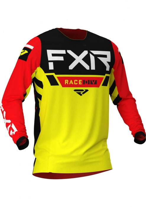 Мотоджерси FXR Yth Pro-Stretch MX 21-Yellow/Black/Red-L
