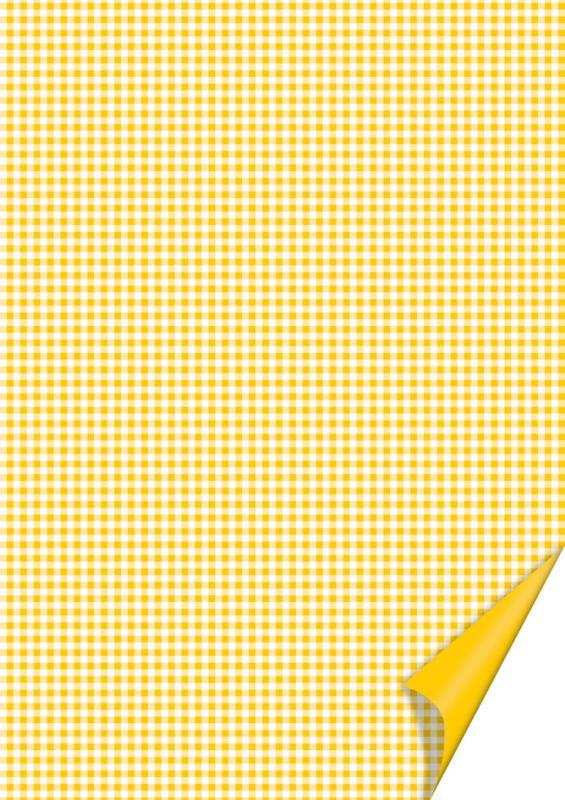 Бумага с рисунком А4 Heyda Квадратдвусторонняя Желтая 21x31см 200г/м2 4005329746215