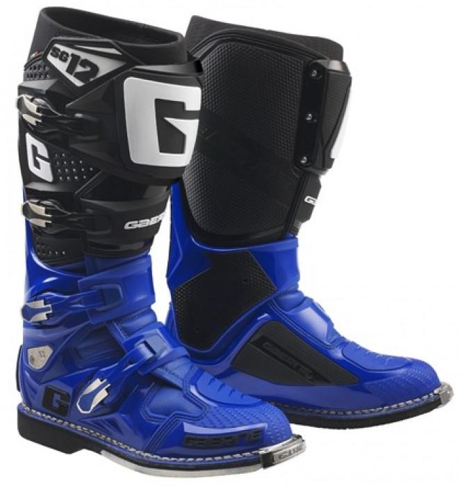 Мотоботинки Gaerne SG 12 BLUE BLACK 42