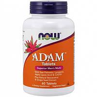 Now Foods, Витамины ADAM Superior Mens Multi, 60 таблеток