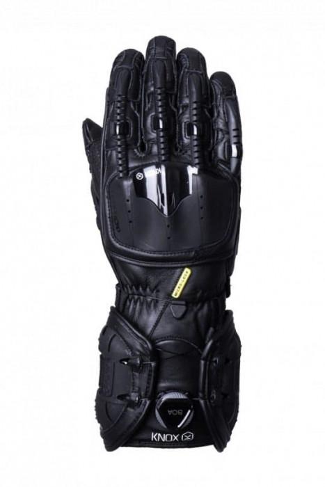 Мотоперчатки Knox Handroid All Black 3XL (Mk4)