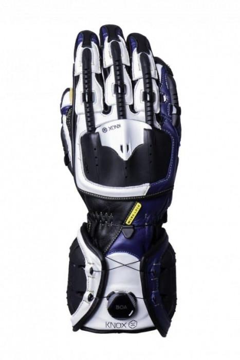 Мотоперчатки Knox Handroid Blue L (Mk4)