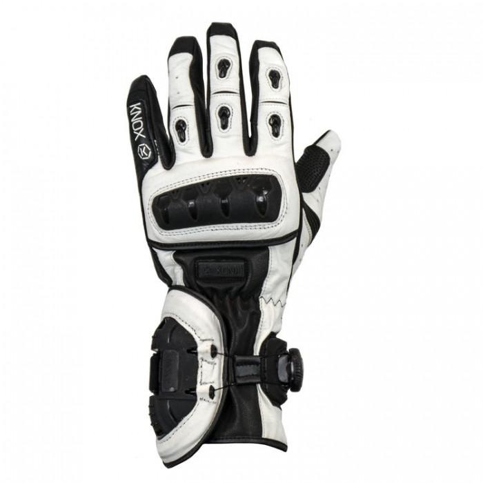 Мотоперчатки Knox Nexos Black/White L (Mk1)