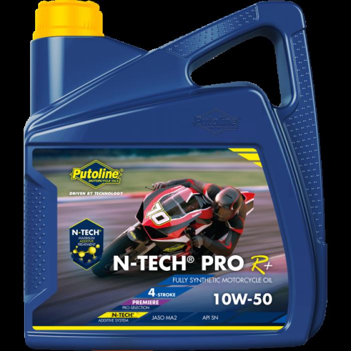 Масло моторное  Putoline N-Tech Рго R+ 10W-50 4л