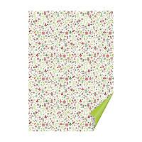 Бумага с рисунком ''Рождественский мотив'', А4(21x29,7см), двусторонний, Белый, 300г/м2, Heyda