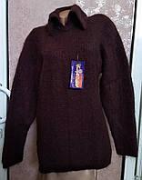 Теплий светр жіночий мохеровий великих розмірів. 50-54, фото 1